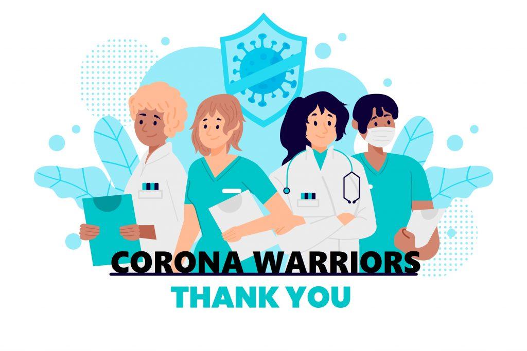 Delhi government invited corona warriors