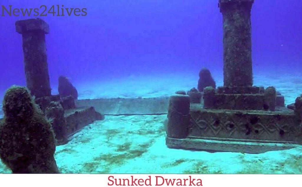 Dwarka City Submerged in Sea