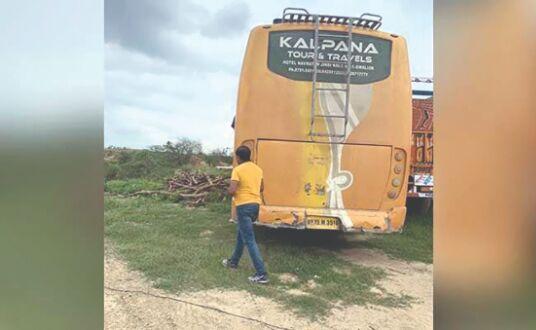 Encounter in Agra Bus hijack...